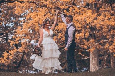 A Rustic Autumn Wedding Shoot at Townhead Estate (c) Clare Geldard Photography (23)