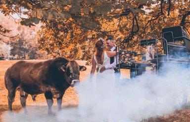A Rustic Autumn Wedding Shoot at Townhead Estate (c) Clare Geldard Photography (26)