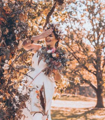 A Rustic Autumn Wedding Shoot at Townhead Estate (c) Clare Geldard Photography (31)