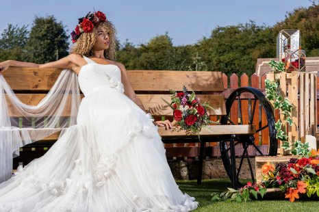 Rustic Wedding Shoot at The Barn at Yew Tree Farm (c) SJM Photography (13)