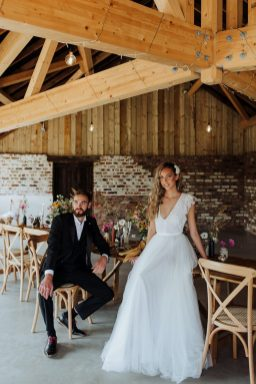 Rustic Wedding Styled Shoot at Woolas Barn (c) Sarah Beth Photography (15)