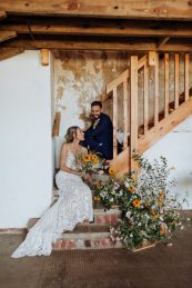 Rustic Wedding Styled Shoot at Woolas Barn (c) Sarah Beth Photography (32)