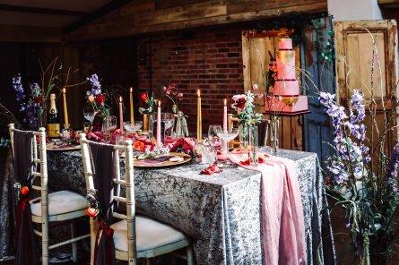 A Colourful Bridal Fashion Shoot at Deighton Lodge (c) Sasha Lee Photography (10)