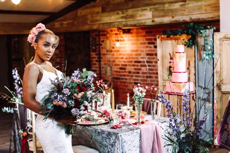 A Colourful Bridal Fashion Shoot at Deighton Lodge (c) Sasha Lee Photography (16)
