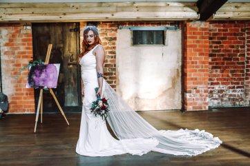 A Colourful Bridal Fashion Shoot at Deighton Lodge (c) Sasha Lee Photography (27)