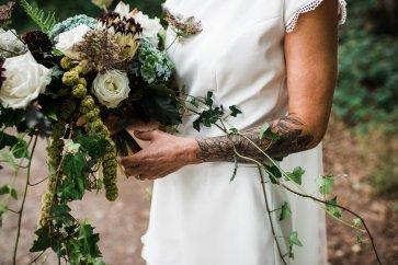 Waterside boho wedding shoot at Damflask Reservoir (c) Fox Moon Photography (16)