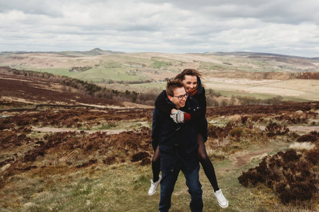 Lizzie & Warren Peak District Engagement (c) Kirstie Garlick Photography (1)