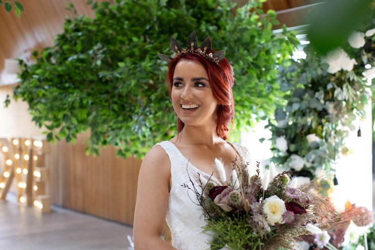 Romantic Wedding Inspiration Shoot at Brockholes (c) Rebecca Bridges Wedding Photography (9)