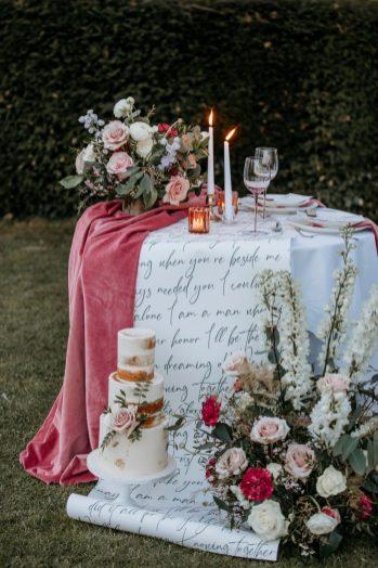 A Pretty Wedding Inspiration Shoot at Hazelwood Castle (c) Natalie Hamilton Photography (12)
