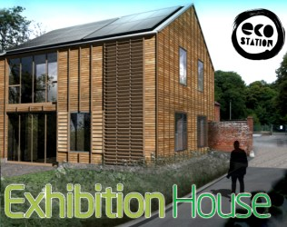Eco Station House Bordon Hampshire