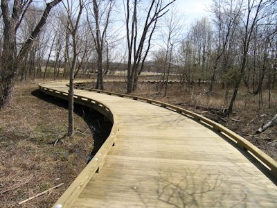 Timber Boardwalk Design and Construction by Bridge Builders USA, Inc.