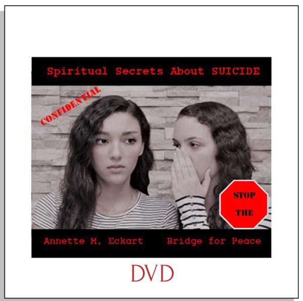 Spiritual Secrets About Suicide DVD