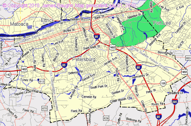 Map County Cities Georgia And Roads