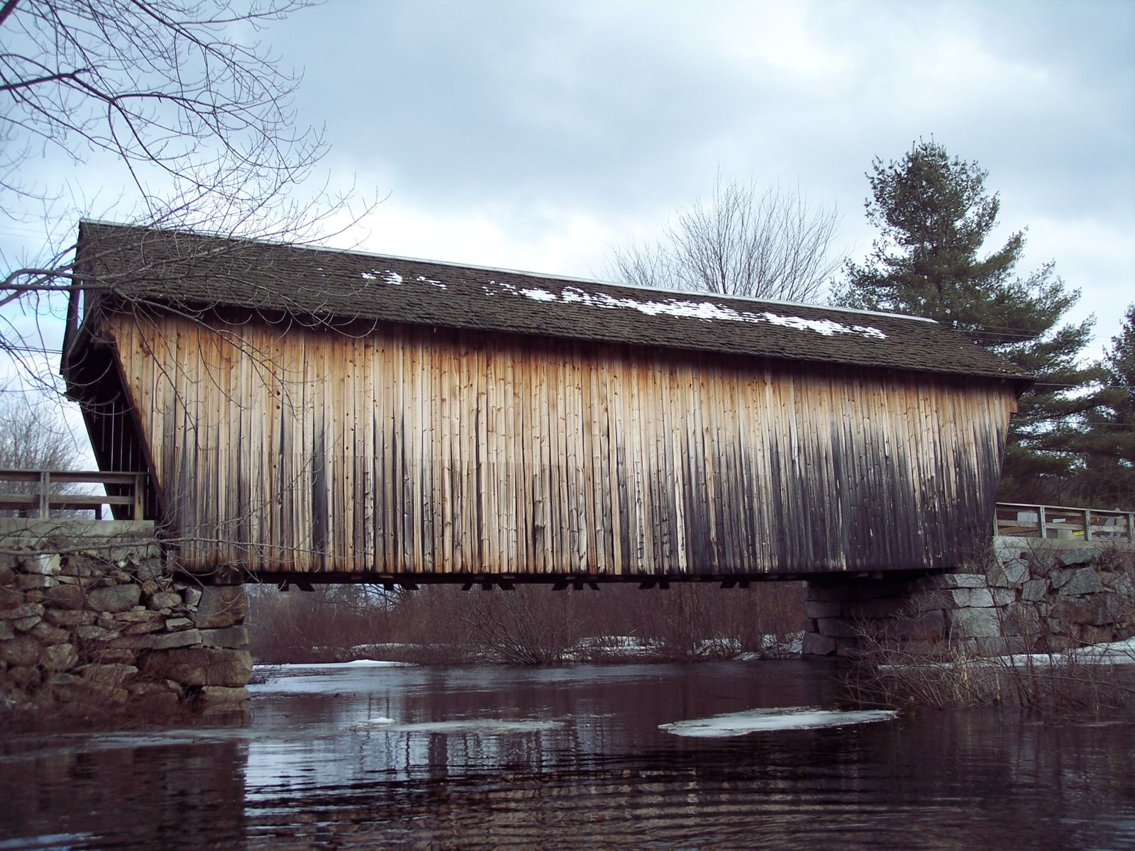 Street Covered Bridge
