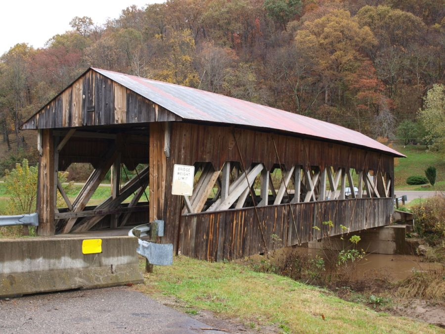 Image result for covered bridge lawrence county, ohio