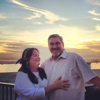 Pastor Mark and Debra, 2015.