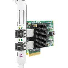 AJ764A HPE 82Q 8Gb Dual Port PCI-e FC HBA