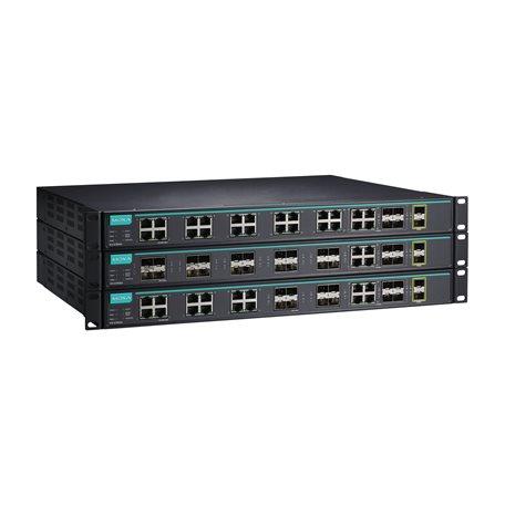 ICS-G7826A-8GSFP-4GTXSFP-2XG-HV-HV MOXA Layer 2 Managed Switch ICS-G7826A-8GSFP-4GTXSFP-2XG-HV-HV