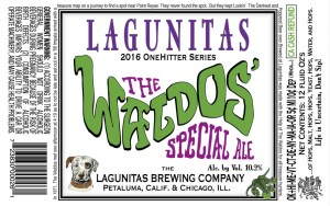 Lagunitas Waldo's Special Craft Beer Newport RI Bridge Liquors