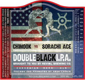Revival Brewing Double Black IPA
