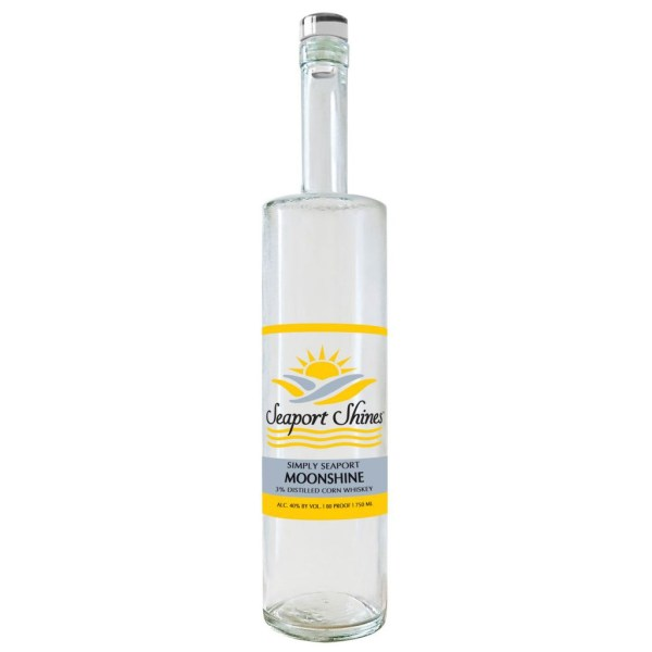 Seaport Shines Simply Seaport Moonshine 750ml