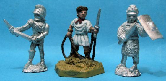Diamecheri with 2 swords, Laquerius and cataphractus