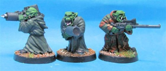 SF Goblin Heavy Weapons