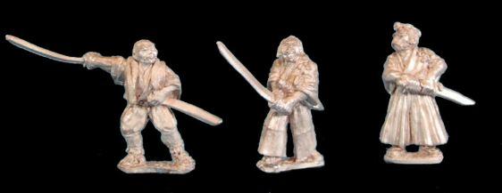 Unarmoured Samurai with Katana