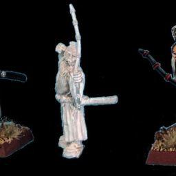 Unarmoured Samurai with Bows