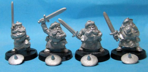 Highland Dwarves with Swords