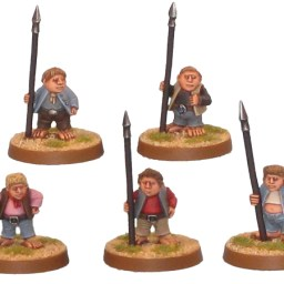 Halfling Militia with Spear