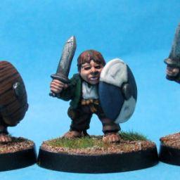 Halfling Militia with Swords