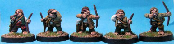 Halfling Militia Archers