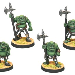 Orc Buccaneer with Halberds