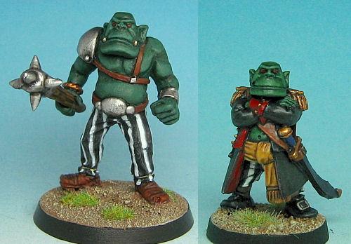 Orc Captain & Bodyguard