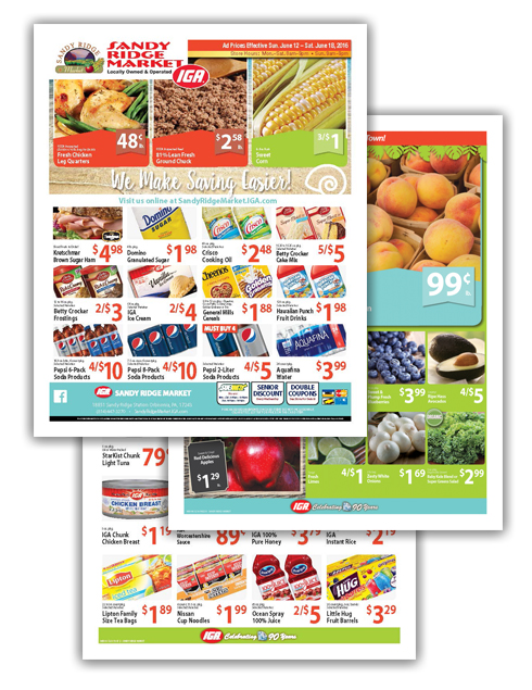 05 Sandy Ridge Summer Themed 8-Page Ad