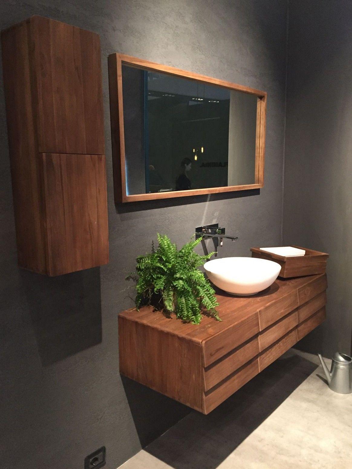 Unique Mid Century Modern Bathroom Vanity Wallpaper