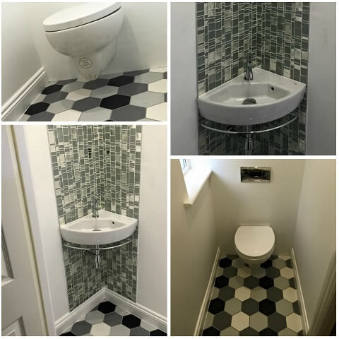 Bathroom Tile Designs For Small Bathrooms - Home Sweet ... on Small Space Small Bathroom Tiles Design  id=50340
