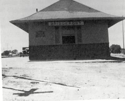 Bridgeport Depot Early 1900's