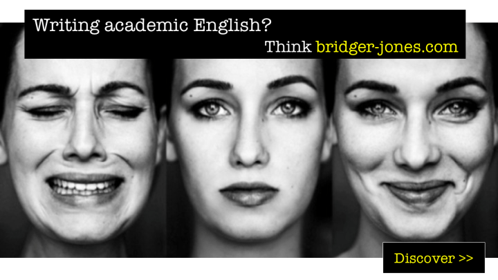 Academic English editing and proofreading