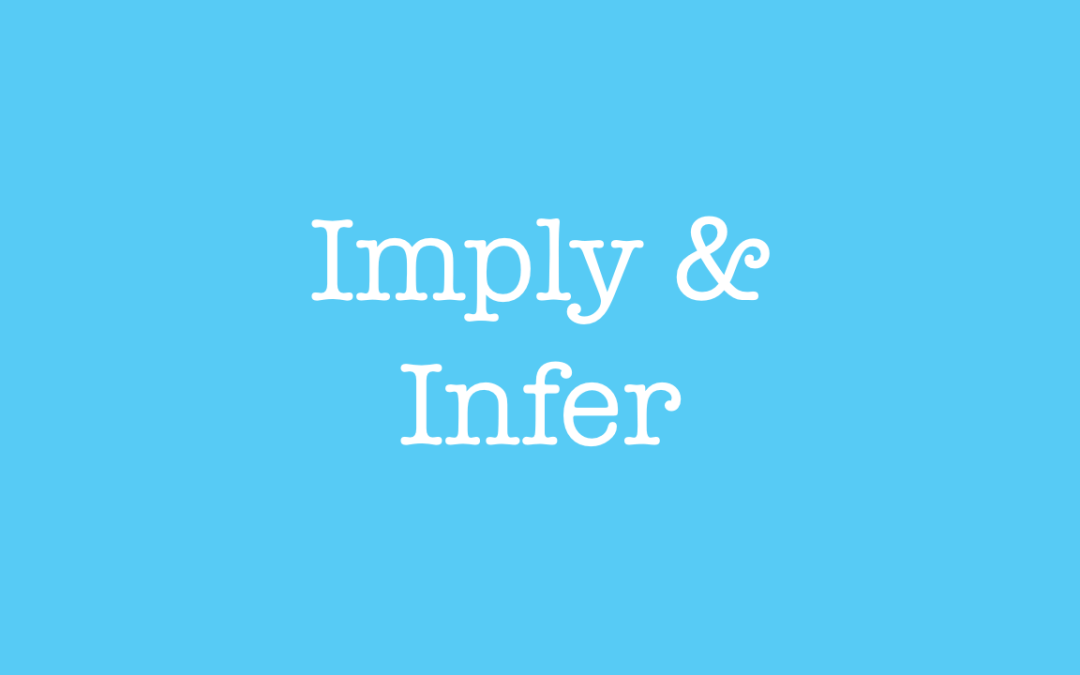 Practical English. Lesson 29: Imply and Infer