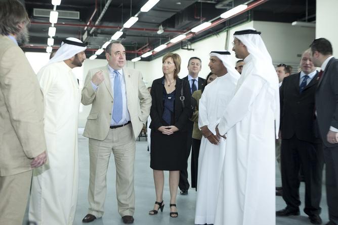 Alec Salmond in Dubai