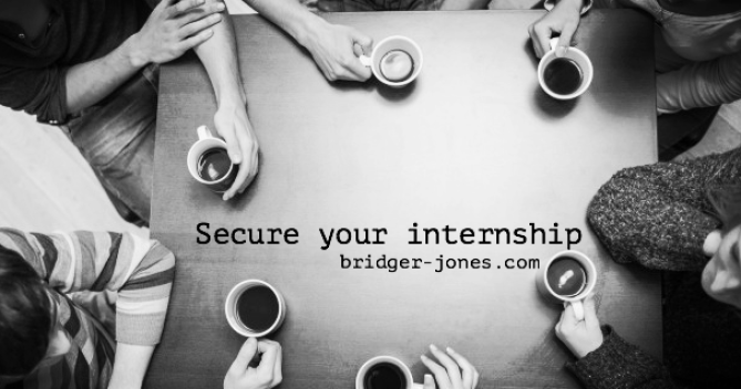 Write a letter or email in perfect English to secure your internship