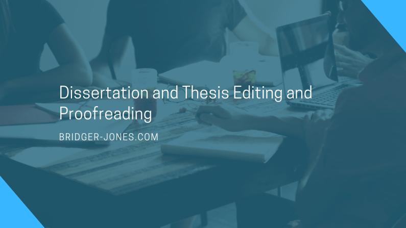 Editor phd thesis