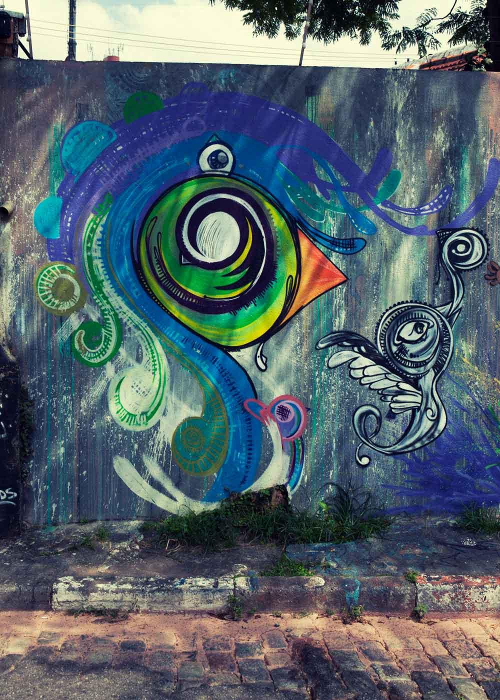 graffiti Sao Paulo hyperbird