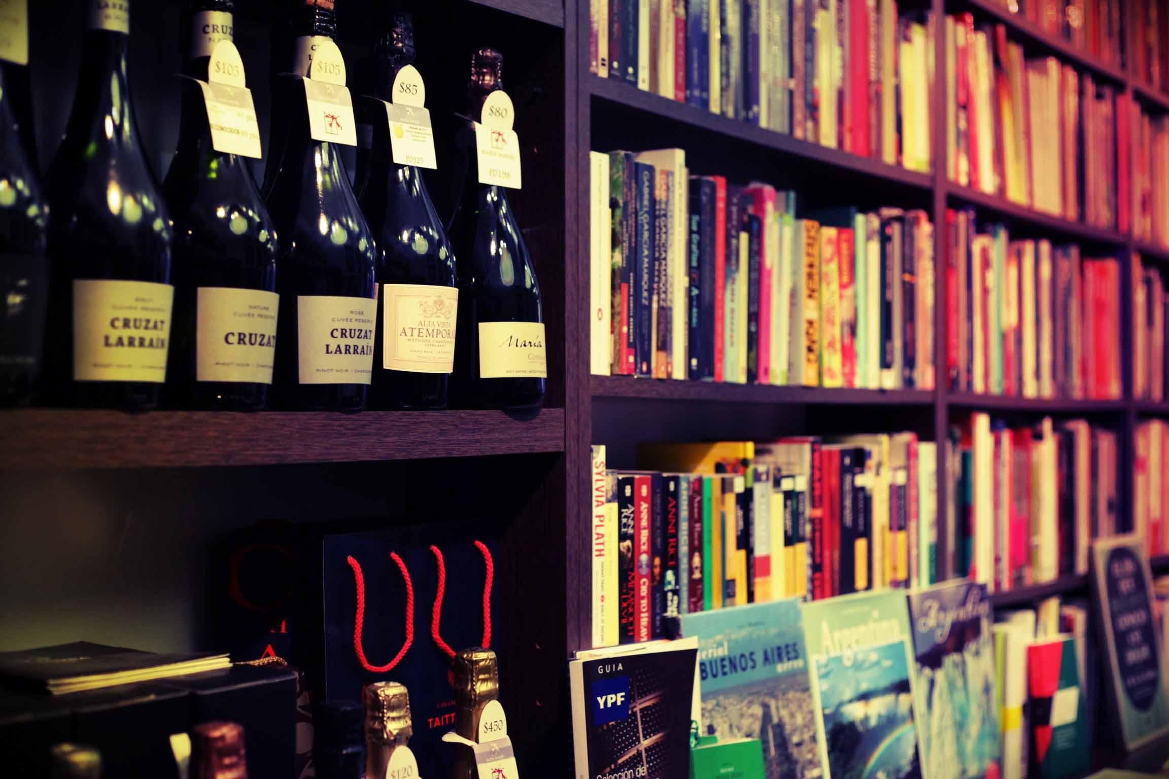 Abulafia bookstore, Buenos Aires