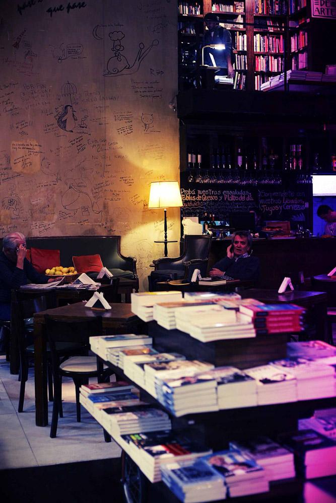 Cafe at Libros del Pasahe, Buenos Aires