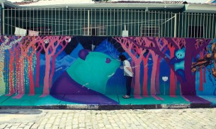 Writing on the wall: street art and graffiti in Sao Paulo