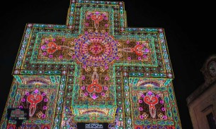 A video from Notte delle Luci festival of lights