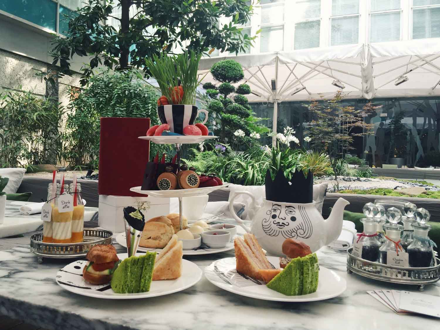 Best afternoon teas in London - Mad Hatters Tea Party at The Sanderson